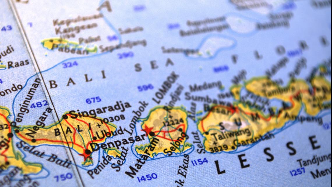 Map Of Asia Bali.Tremors Shake Bali Airports Remain Operational Travel Weekly Asia
