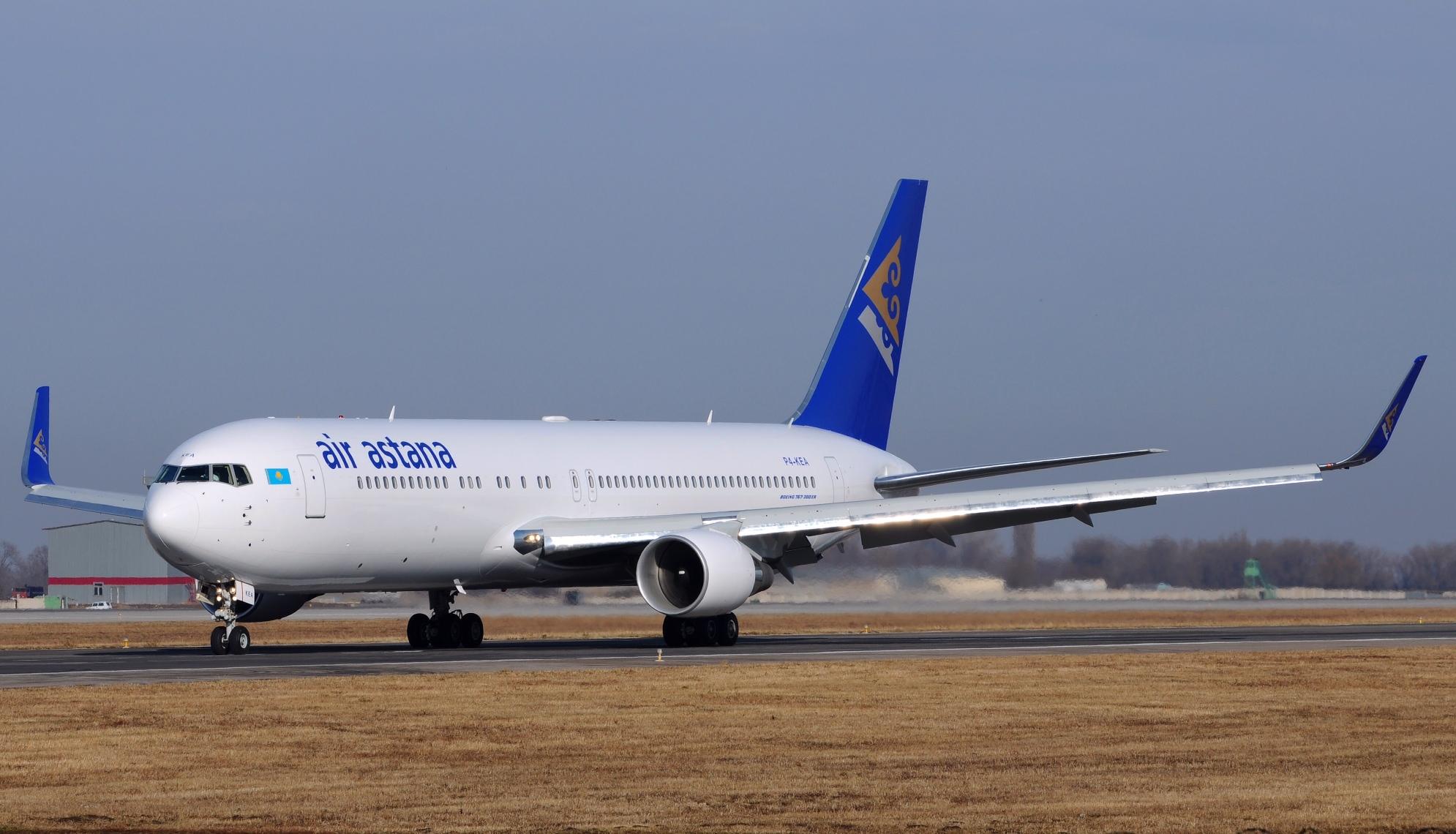 Air AstanaBoeing 767 (1)