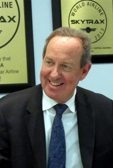 Peter Foster president Air Astana