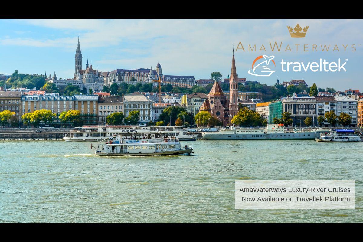 AmaWaterways steers ahead with Traveltek