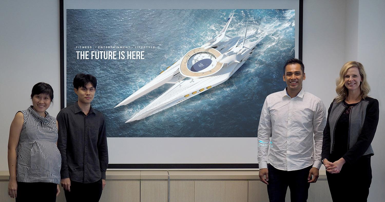 Technology, wellness at sea are key millennial goals