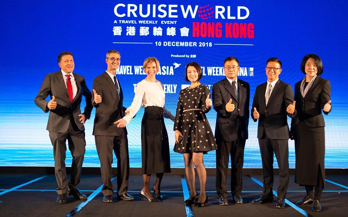 CruiseWorld Hong Kong highlights cruise hub's shining prospects