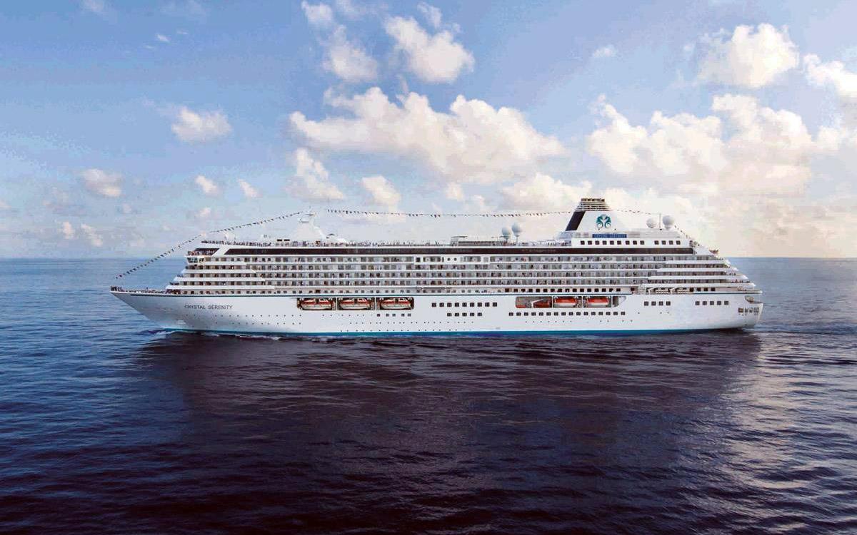 Let's go sailing: Crystal reveals World Voyage details