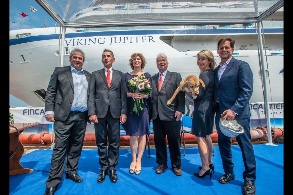 Viking welcomes sixth ocean ship