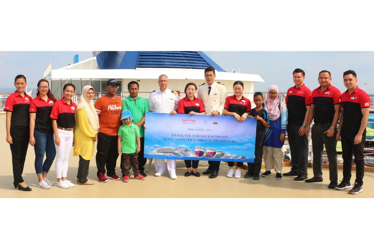 Dream Cruises and SuperStar Cruises launch Make-A-Wish @ Sea campaign