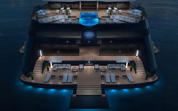 Ritz-Carlton's first cruise ship named Azora