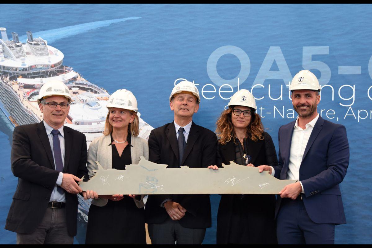 A class act: Royal Caribbean's new Oasis ship