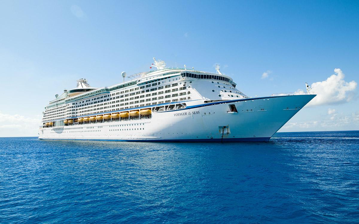 Voyager of the Seas docks in new waters