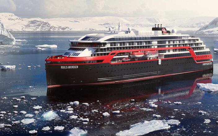 Hurtigruten to order third hybrid expedition ship