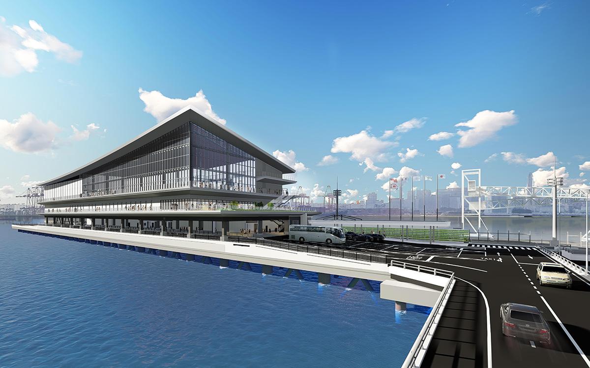 Mega ships to call into Tokyo's upcoming cruise terminal