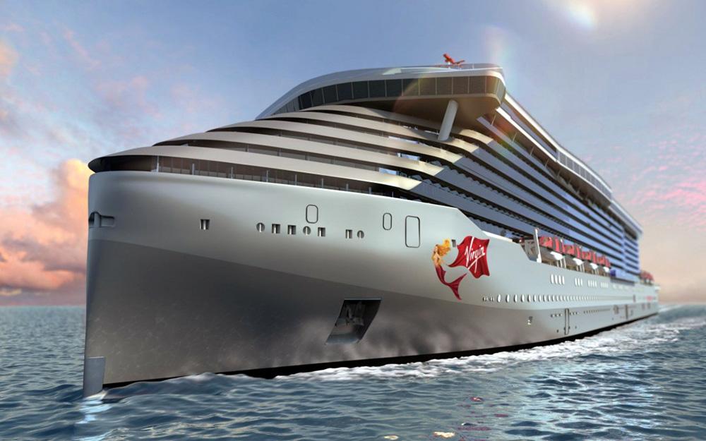 Virgin Voyages unveils 'Scarlet Lady'