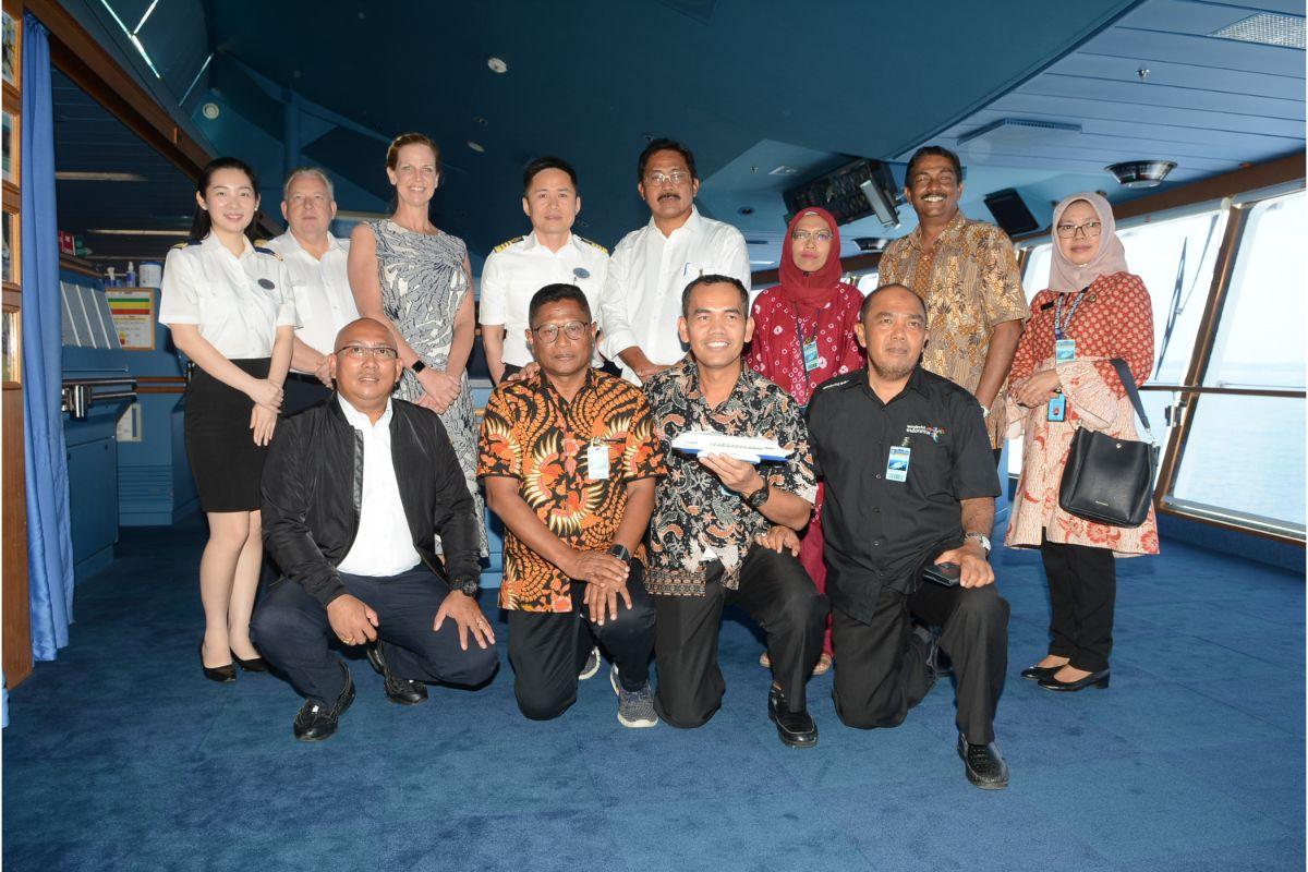 Voyager of the Seas makes maiden call at Bintan Island