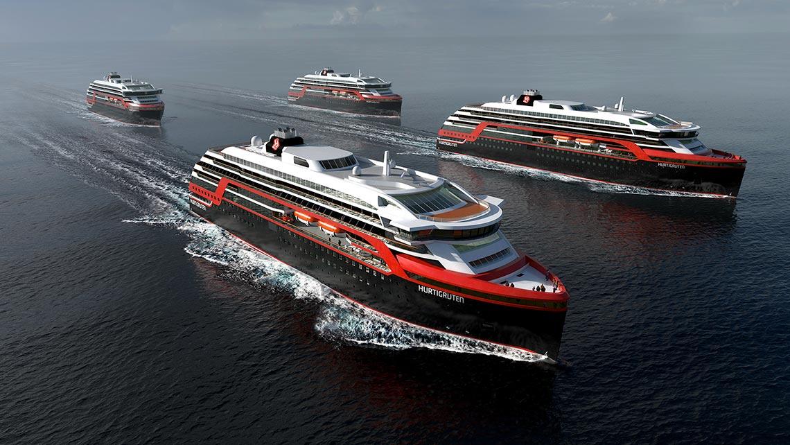 Hurtigruten waves goodbye to plastic