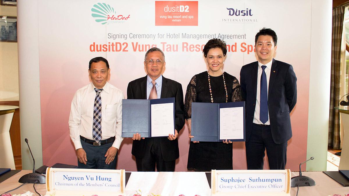First dusitD2 resort for Vietnam highlights beaches of Vung Tau